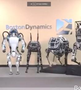 逆天!波士顿动力最新机器人翻滚跳跃