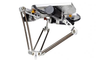 湖南艾克 — 基于翠欧控制器的并联机器人物料分拣